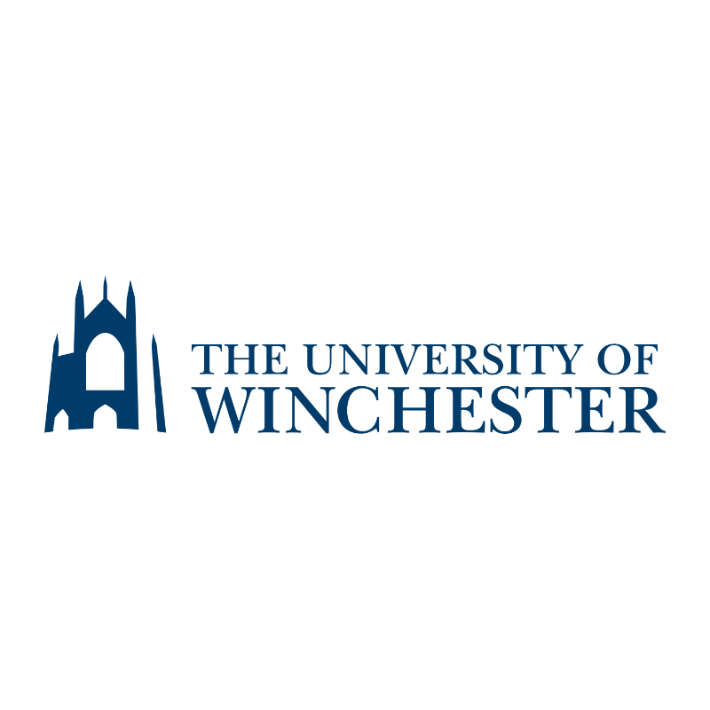 University Of Winchester -logo - previous clients of Celebrating Disability - Disability Awareness Support for your business
